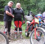 Mick Andrews und Hans Haigermoser, 2010 in Gressenich