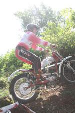 2012: S. Lippacher auf Moto Morini