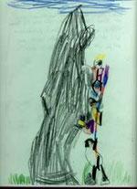 """Unsere Kinder brauchen Entlastung, Stütze und Zuwendung (Elena, 5 Jahre: """"Mit Papa und Bruder klettern auf den Piz Trovat"""")"""