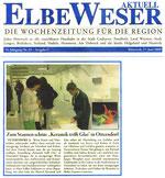 Keramik trifft Glas  -  Artikel Elbe-Weser-Aktuell 17.06.09