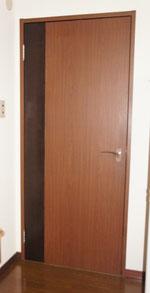 赤松集成材のドアの再利用拡張版