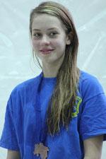 Lina Hartwig holte über 50 m und 100 m Brust Bronze