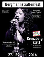 Plakat Bergmannstraßenfest 2014