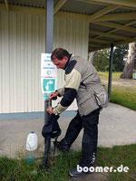 Trinkwasser-Versorgung für Reisende