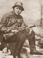 А. Гайдар на фронте. 1941 год