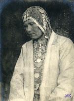 В национальном костюме. 19 век.