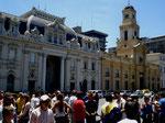 Plaza de Armas, Santiago, Foto: Carlo Scheck