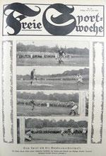 Titelbild der Freien Sportwoche Nr. 28 vom 15. Juli 1925