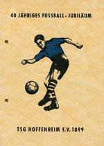 40 Jahre Fussball-Abteilung der TSG Hoffenheim ( 1961 )