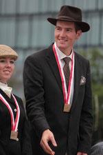 Bronzemedaille SM Bern 2012