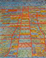 P. Klee, Strada principale e strade secondarie - 1929