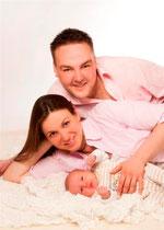Petra Klink & Johann Klink jun. mit Tochter Miriam Luisa Klink
