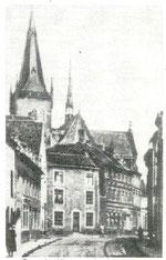 Das alte Kintzensche Haus in der Dürener Straße