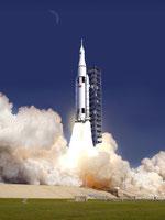 新型ロケットのイメージ図 NASA