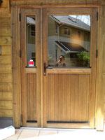 参考・・・木製親子玄関ドア