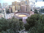 Plaza de Toros gezien vanaf Parador