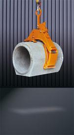 Pinza redonda para tubos