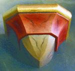 Bild Wandkonsole schlicht aus Holz