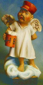 Bild Holzfigur Aloisius Nr. 303 handgeschnitzt