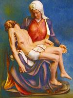 Bild Holzfigur Pieta (Maria Dolores) Nr. 259 handgeschnitzt