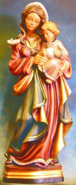 Bild Holzfigur Madonna Nr. 342 handgeschnitzt
