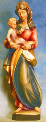 Bild Holzfigur Madonna Nr. 3 handgeschnitzt