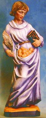Bild Holzfigur Hl. Stephanus Nr. 16 handgeschnitzt