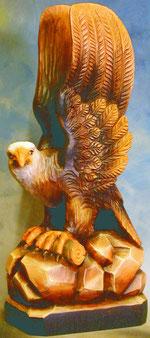 Bild Holzfigur Adler Nr. 314 handgeschnitzt