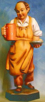 Bild Holzfigur Wirt Nr. 59 handgeschnitzt