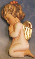 Bild Holzfigur Mädchen Nr. 408 handgeschnitzt