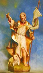Bild Holzfigur Hl. Johannes der Täufer Nr. 222 handgeschnitzt
