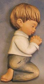 Bild Holzfigur Junge Nr. 409 handgeschnitzt