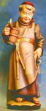 Bild Holzfigur Mönch Nr. 100 handgeschnitzt