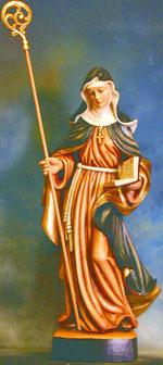 Bild Holzfigur Nonne/Klosterfrau Nr. 205 handgeschnitzt