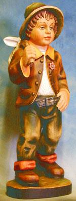 Bild Holzfigur Wanderer Nr. 52 handgeschnitzt