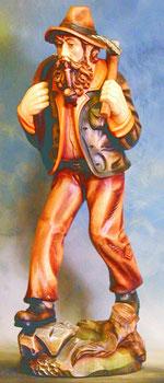 Bild Holzfigur Waldarbeiter Nr. 178 handgeschnitzt
