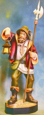 Bild Holzfigur Nachtwächter Nr. 117 handgeschnitzt