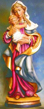 Bild Holzfigur Madonna Nr. 331 handgeschnitzt