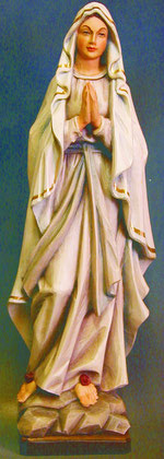 Bild Holzfigur Maria von Lourdes Nr. 248 handgeschnitzt