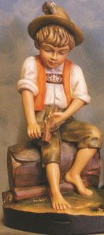 Bild Holzfigur Junge Nr. 213 handgeschnitzt
