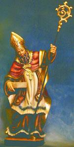 Bild Holzfigur Bischof Nr. 292 handgeschnitzt