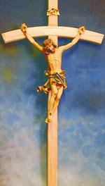 Bild Christus-Korpus Nr. 400a handgeschnitzt aus Holz