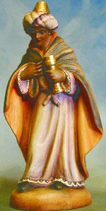 Bild Holzfigur König Mohr Nr. 904 handgeschnitzt