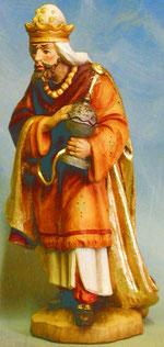Bild Holzfigur König weis Nr. 903 a handgeschnitzt