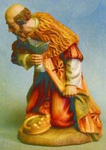 Bild Holzfigur König kniend Nr. 905a handgeschnitzt