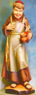 Bild Holzfigur Mönch Nr. 34 handgeschnitzt