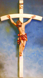 Bild Christus Korpus Nr. 400 handgeschnitzt aus Holz
