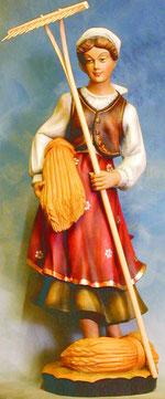 Bild Holzfigur Bäurin Nr. 76 handgeschnitzt
