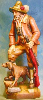 Bild Holzfigur Jäger Nr. 72 handgeschnitzt