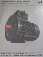 Elektromotoren » Drehstrommotoren » 2 Drehzahlen quadratisches Gegenmoment (Lüftermoment) » 4/6 polig (ca. 1450/950 U/min) » B3/5 (Fuß/Flansch)